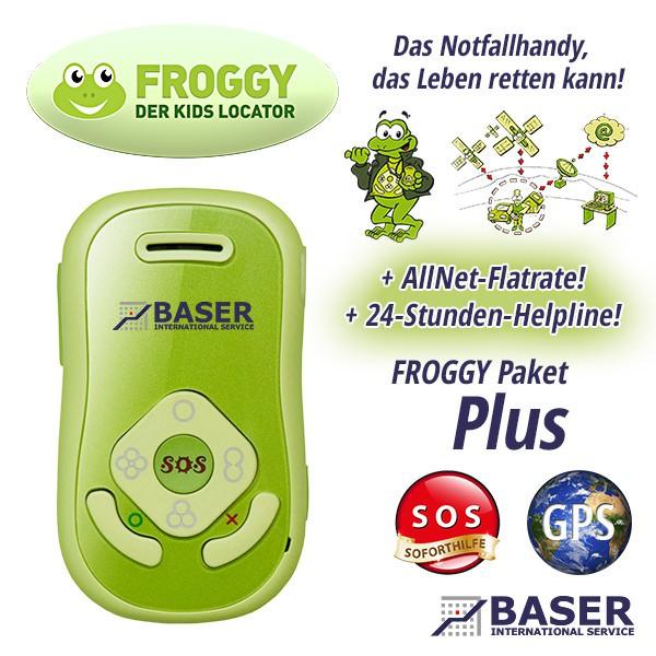 FROGGY Kids Locator - Paket Plus