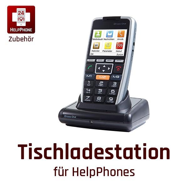 Tischladestation für HelpPhones