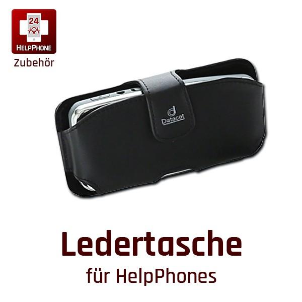 Ledertasche für HelpPhones