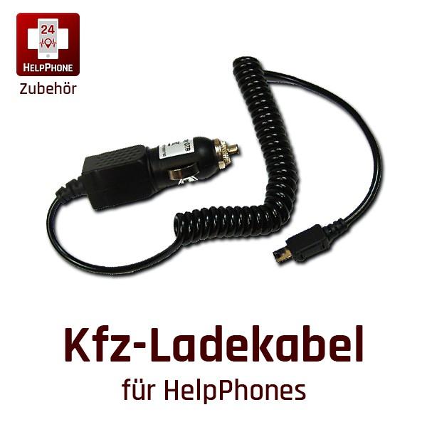 Kfz-Ladekabel für HelpPhones