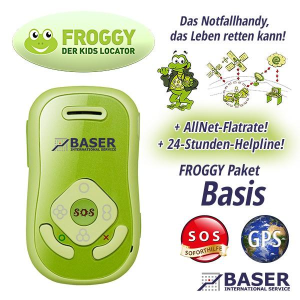 FROGGY Kids Locator - Paket Basis